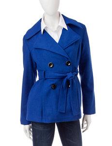 Rampage Royal Blue Peacoats & Overcoats