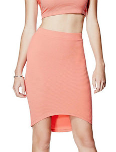 G by Guess Danise Hi-Lo Midi Skirt
