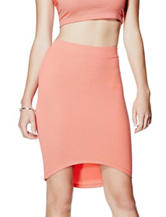 G by Guess Danise Hi-Lo Midi Skirt