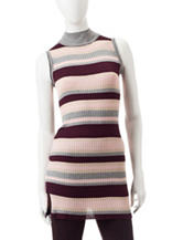 Made For Me To Look Amazing Multicolor Striped Knit Top
