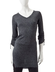 Made for Me to Look Amazing Black / Silver Tunics
