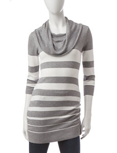Made for Me to Look Amazing Grey Sweaters Tunics
