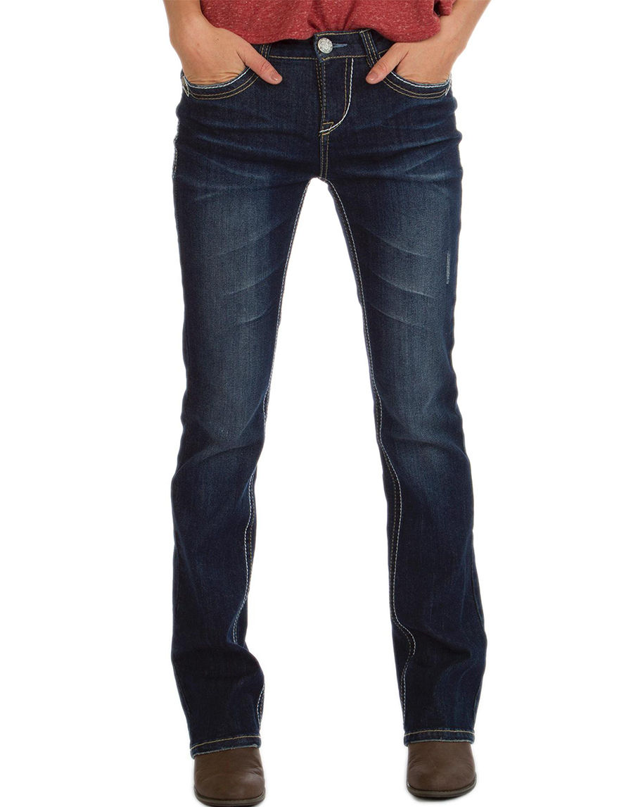 Union Bay Dark Blue - Rinse Bootcut