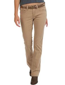 Union Bay Tan Slim Bootcut Pants