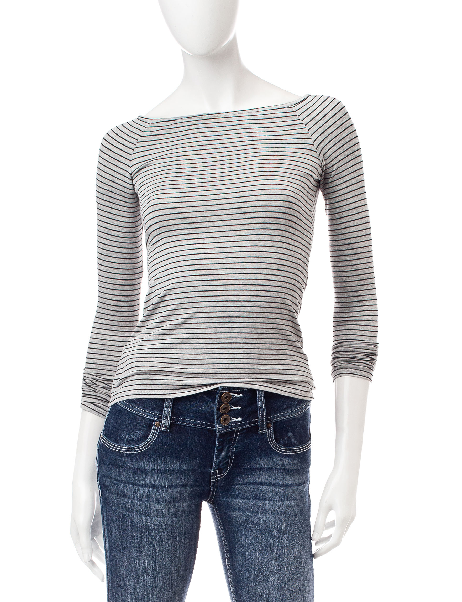 Wishful Park Grey Pull-overs Shirts & Blouses