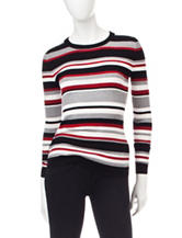 It's Our Time Multicolor Striped Knit Sweater