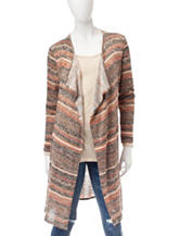 It's Our Time Multicolor Striped Cardigan Sweater