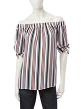 Wishful Park Multicolor Striped Top