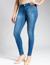 Celebrity Pink Medium Wash Skinny Stretch Jeans