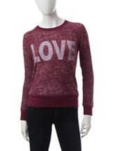 Almost Famous Maroon Love Top