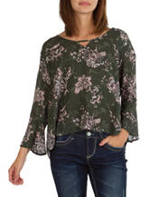 Union Bay Floral Print Top