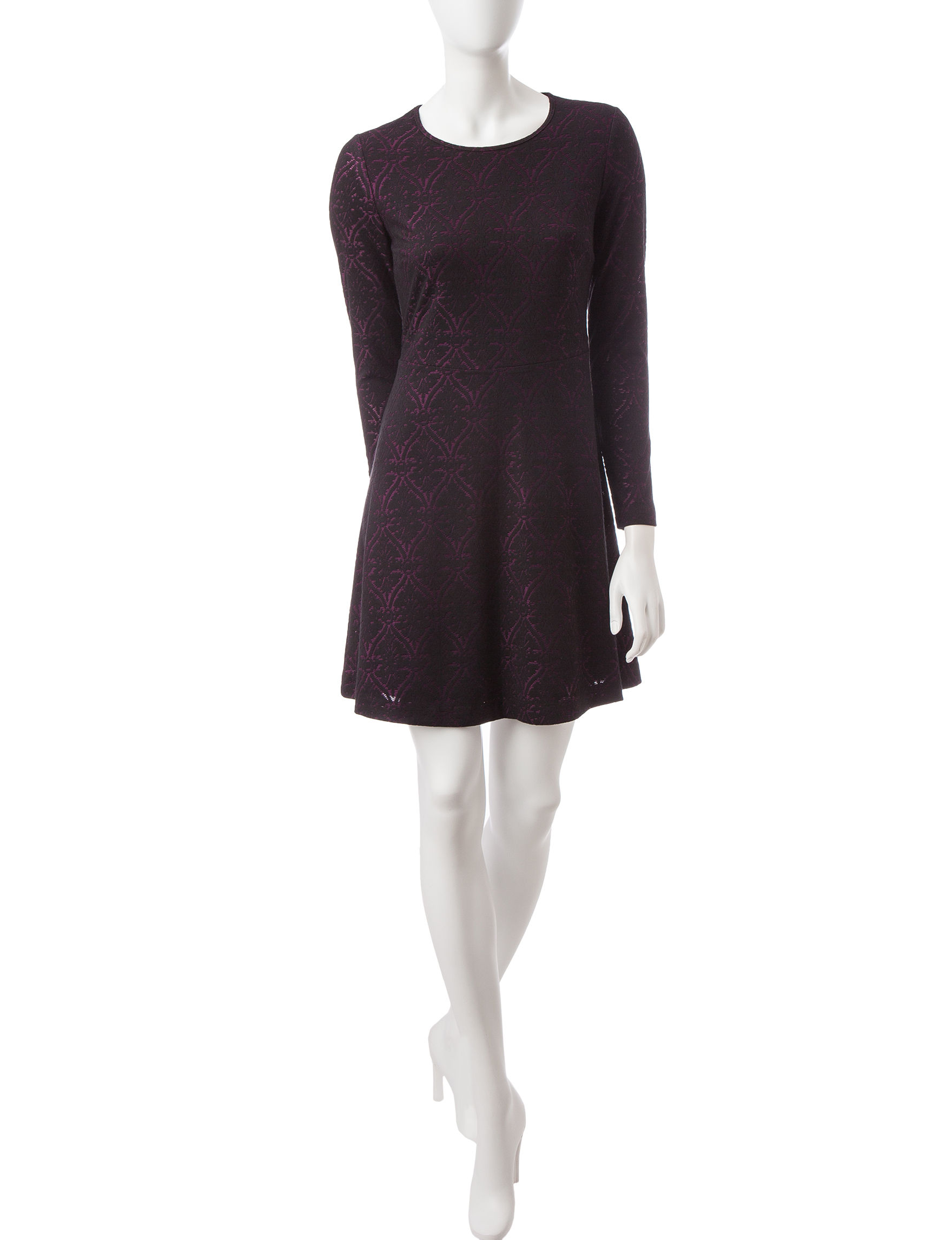 Kensie Purple Everyday & Casual A-line Dresses