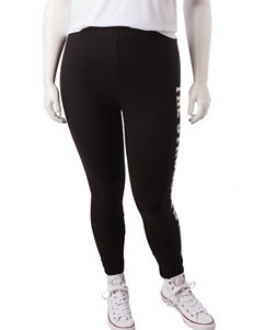 Justify White / Black Leggings