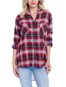 Taylor & Sage Crimson Shirts & Blouses