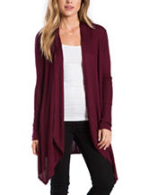 Eyeshadow Ribbed Cardigan