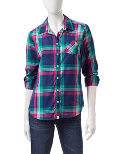 U.S. Polo Assn. Navy Shirts & Blouses