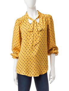 Heart Soul Beige / Brown Shirts & Blouses