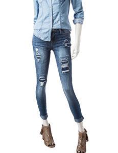 Vanilla Star Cuffed Skinny Jeans