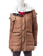 Justify Beige Puffer Jacket