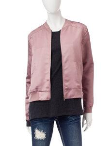 Justify Mauve Lightweight Jackets & Blazers