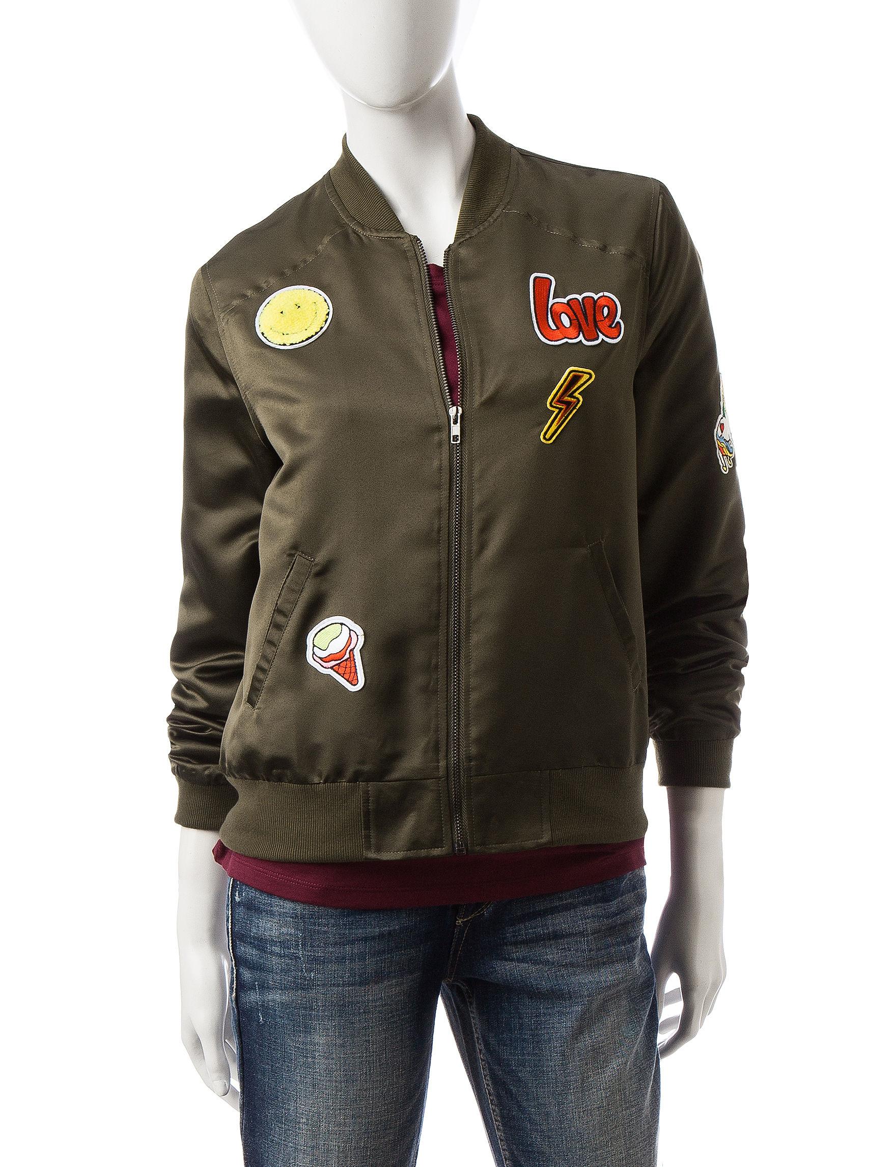 Justify Purple Lightweight Jackets & Blazers