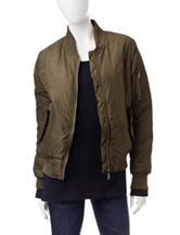 YMI Olive Bomber Jacket