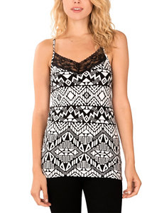 WallFlower Abstract Print Tank Top