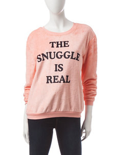 Cold Crush Pink The Snuggle Is Real Sweatshirt