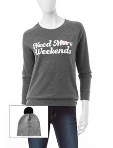 COLD CRUSH Grey Pull-overs