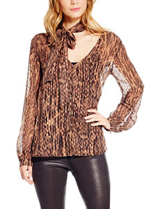 Jessica Simpson Brown Shirts & Blouses