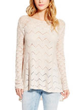 Jessica Simpson Darlanne Pointelle Top