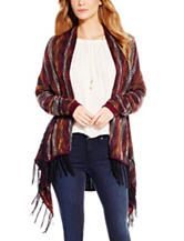 Jessica Simpson Multicolor Stripe Knit Cardigan