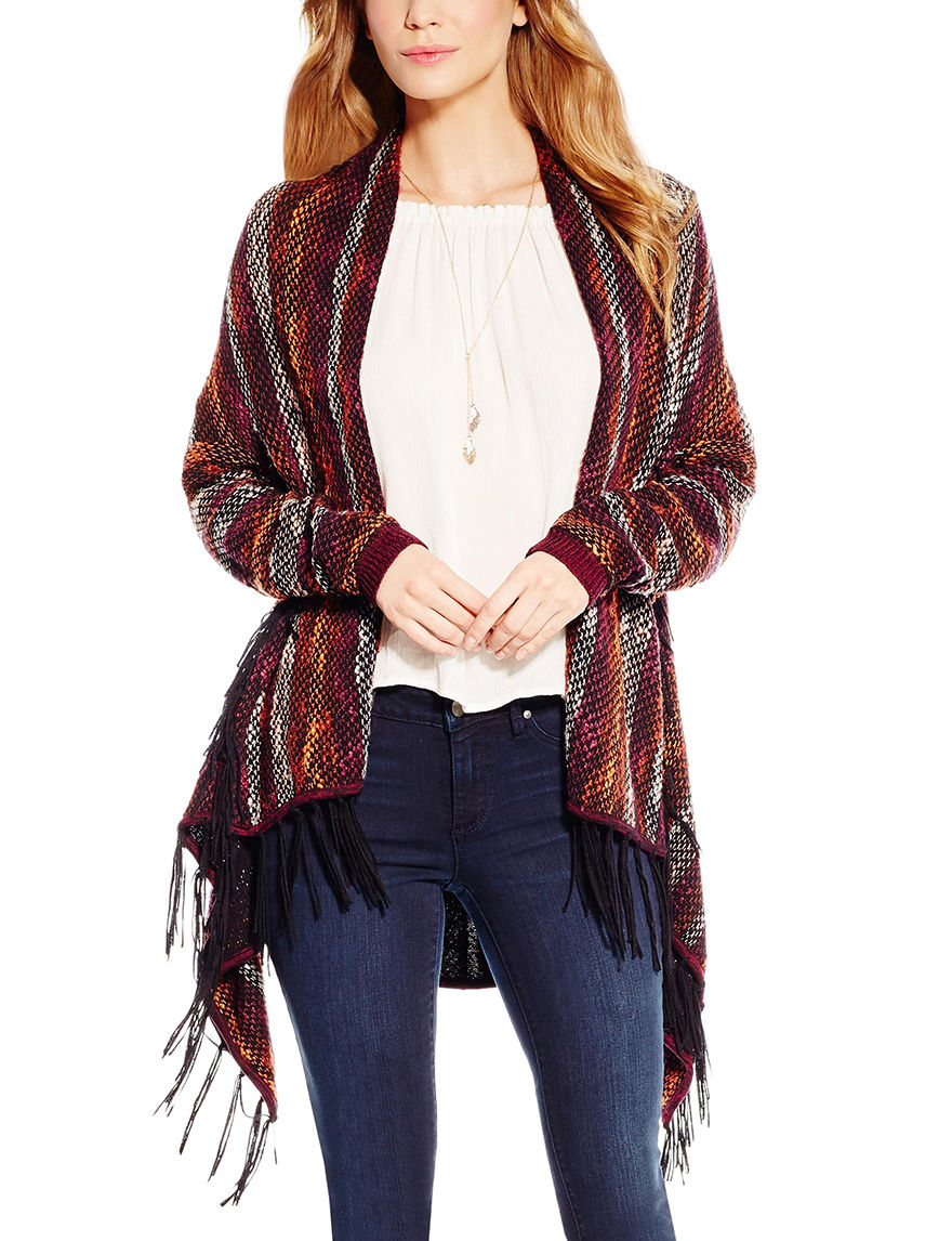 Jessica Simpson Red Cardigans Sweaters