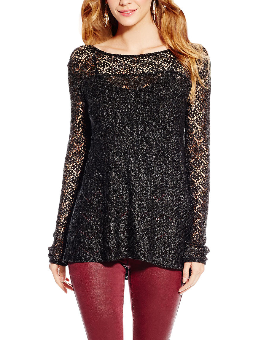 Jessica Simpson Black Sweaters