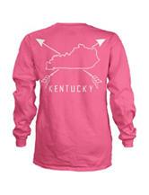 Kentucky Pink Archer Top