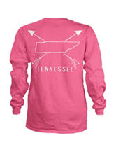Tennessee Pink Archer Top