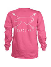 North Carolina Pink Archer Top