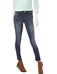 Almost Famous Dark Wash Skinny Jeans