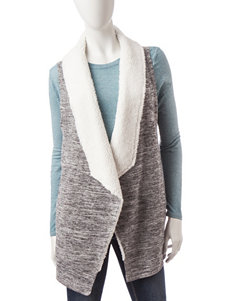 Almost Famous Grey Vests