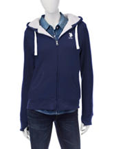 U.S. Polo Assn. Navy Fleece Jacket