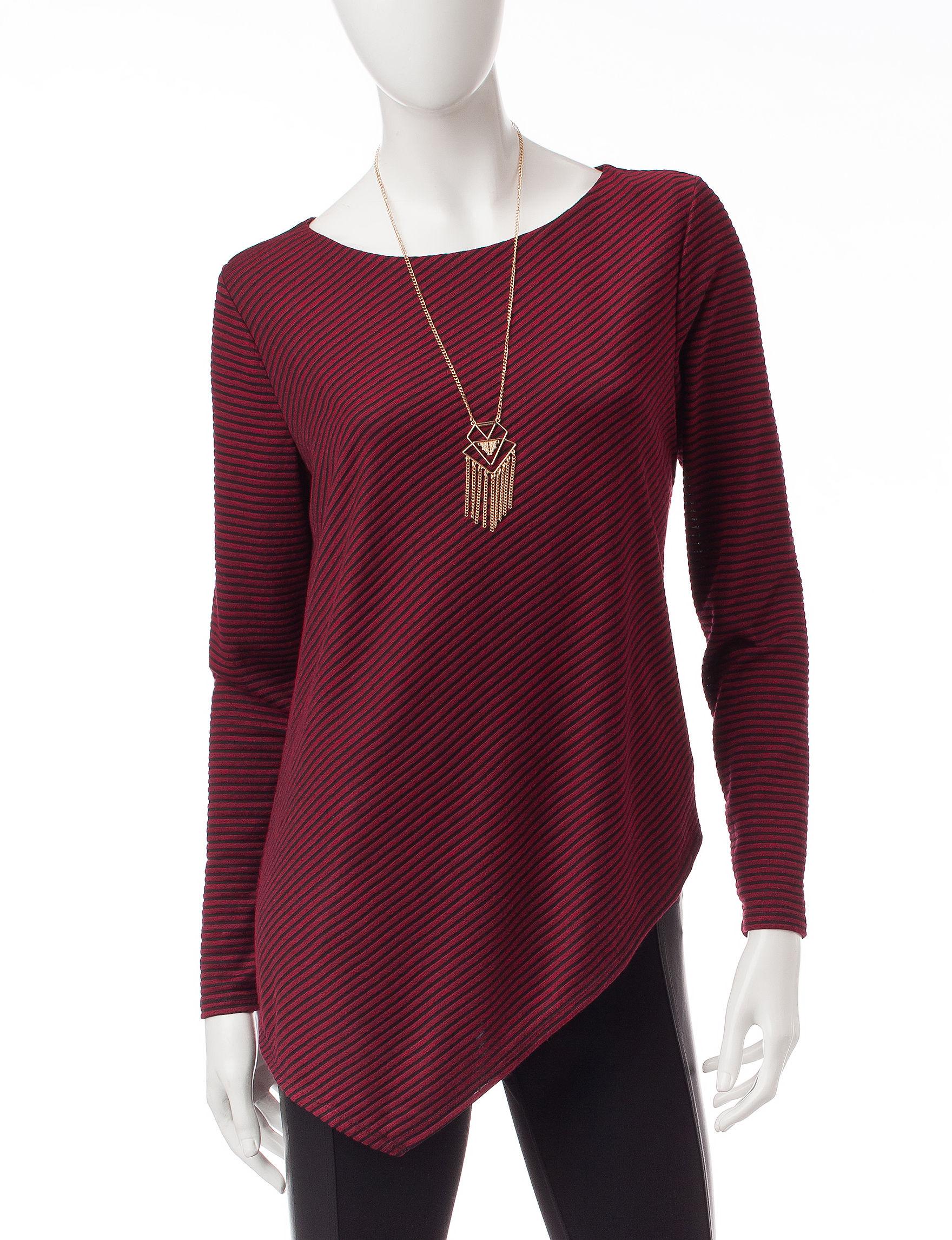 AGB Red Pull-overs Sweaters