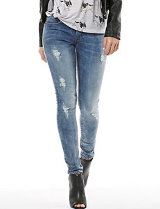 Buffalo Blu White Skinny Slim