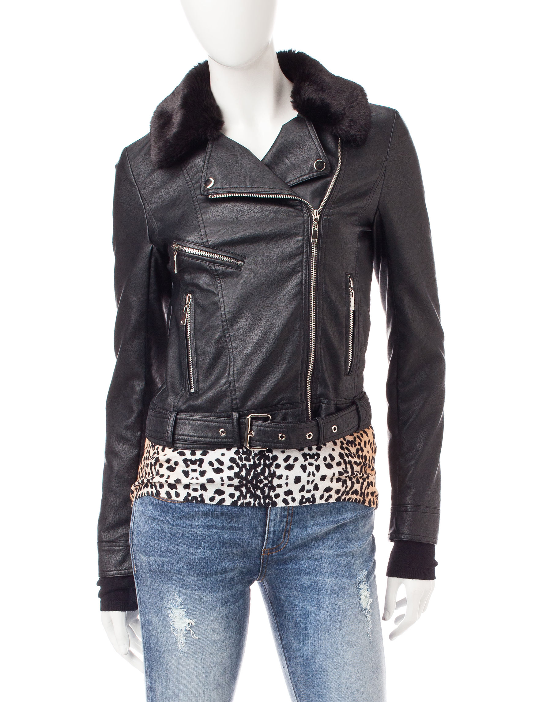 Buffalo Blu Black Everyday & Casual Lightweight Jackets & Blazers