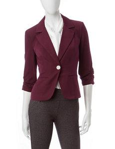 XOXO Purple Lightweight Jackets & Blazers
