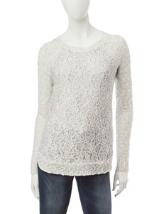Cloud Chaser Heather Grey Pull-overs Sweaters
