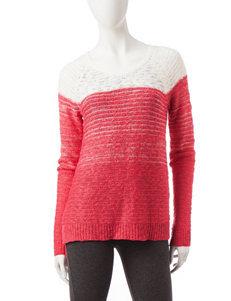 Cloud Chaser Red Pull-overs Sweaters
