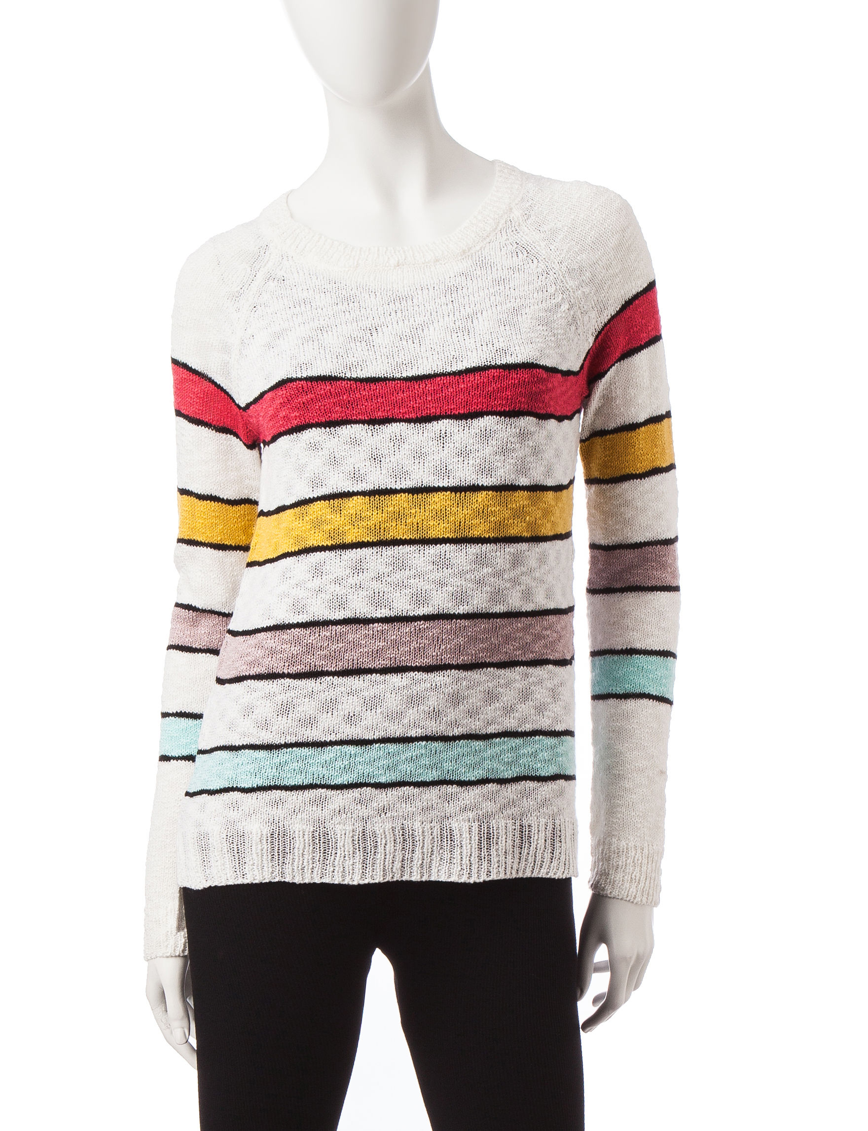 Cloud Chaser White / Black Pull-overs Sweaters