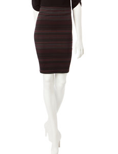 Joe Benbasset Multicolor Stripe Pencil Skirt