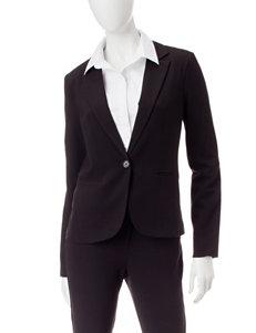 XOXO Black Single Button Blazer
