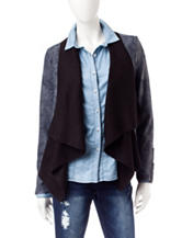 Jessica Simpson Blue Waterfall Cardigan